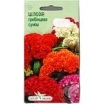 Насіння Елітсортнасіння Квіти Целозія Гребінцева 0,2 г