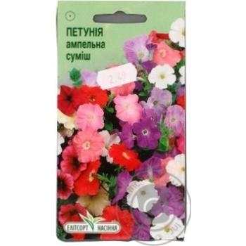 Насіння Елітсортнасіння Квіти Петунія Ампельна суміш 0,05 г
