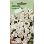 Насіння Елітсортнасіння Квіти Дзвоники Карпатські білі 0,1г