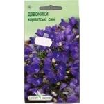 Насіння Елітсортнасіння Квіти Дзвоники Карпатські сині 0,1г