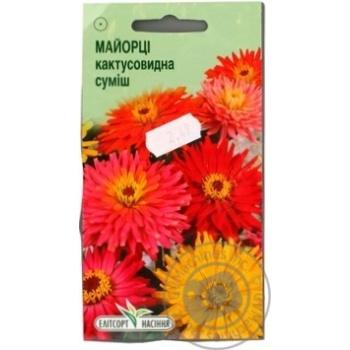 Насіння Елітсортнасіння Квіти Майорці Кактусовидна суміш 0,5 г