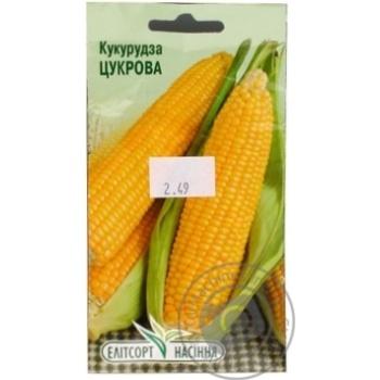 Насіння Елітсортнасіння Кукурудза цукрова 10г