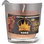 Свічка в стакані о65-79*83мм 30 год Арома кава/6 Pragnis GA68-COF