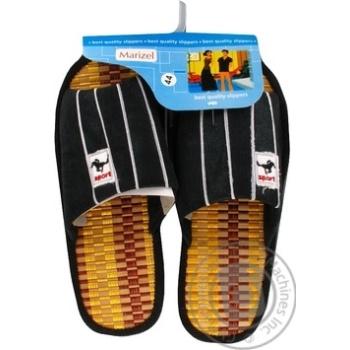 Обувь мужская Marizel комнатная Yan 589 - купить, цены на Фуршет - фото 1