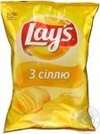 Чипсы Lay's картофельные с солью 133г