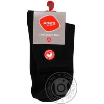 Шкарпетки чоловічі подвійний борт Marca Comfort розмір 27 арт.М103L - купить, цены на Novus - фото 2