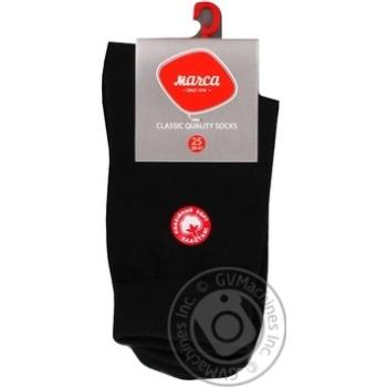Шкарпетки чоловічі подвійний борт Marca Comfort розмір 25 арт.М103L