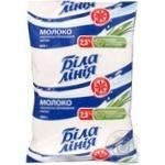 Молоко ультрапастеризоване 2,5% Біла лінія tf 900г