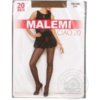 Колготки жіночі Malemi Ciao 20 melon 3