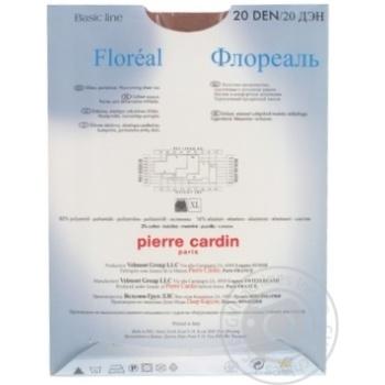 Колготи жіночі Pirre Cardin Floreal 20 visone 4 - купить, цены на Novus - фото 2