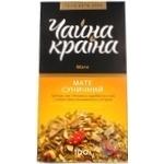 Чай Чайна Краина Мате Земляничный 100г Украина