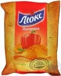 Чипсы Люкс картофельные со вкусом паприки 71г Украина