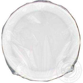 Disposable Plate white 205mm 50pcs