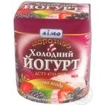 Морозиво Холодний йогурт лісова ягода Лімо картонний стакан 300г