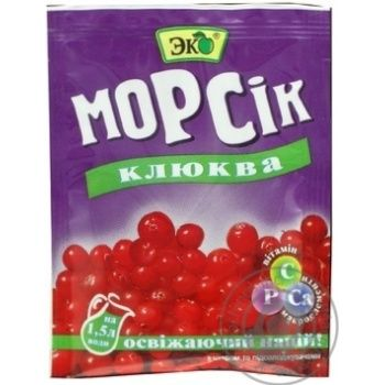 Concentrate Eko Morsik cranberry 10g