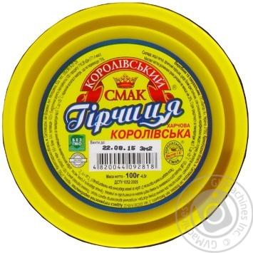 Korolivsky Smak Mustard 100g - buy, prices for EKO Market - photo 2