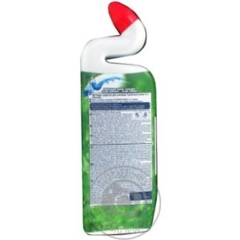 Средство Туалетный Утенок Активный Лесной для мытья унитаза 500мл - купить, цены на Novus - фото 2