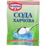 Soda Dr.oetker for baking 50g