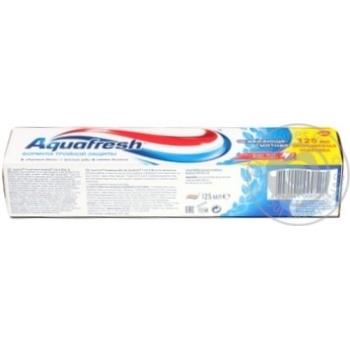 Зубная паста Aquafresh Освежающая мятная 125мл - купить, цены на Novus - фото 4