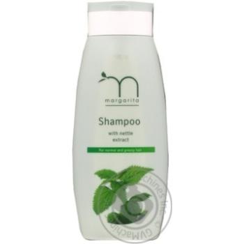 Шампунь з екстрактом кропиви для нормального і жирного волосся Margarita 250мл