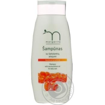 Шампунь з обліпиховою олією для частого використання Margarita 250мл