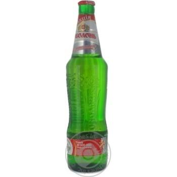 Пиво Оболонь Безалкогольное светлое пастеризованное 500мл