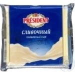 Сыр Президент Сливочный плавленый 40% 150 г Россия