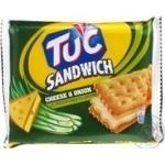 Крекер Тук со вкусом сыра 112г