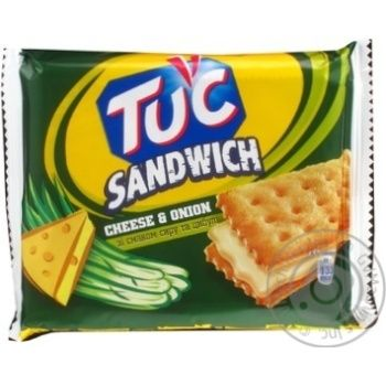 Cracker Tuc with taste of cheese 112g