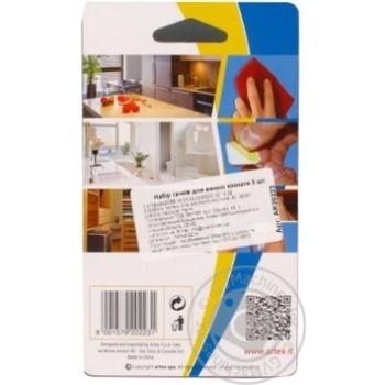 Набор крючков для ванной комнаты 5шт - купить, цены на Novus - фото 2