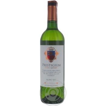 Вино Prestigium Cuvee speciale белое 11% 0,75л