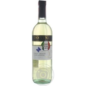Вино Donini Pinot Grigio Delle Venezie біле сухе 12% 0.75л