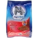 PreVital for cats with beef and vegetables dry food 400g
