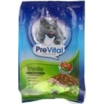 Prevital Sterile with poultry meat dry cat food 350g