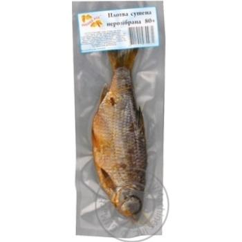 Плотва сушена нерозібрана Рибний Рай в вакуумній упаковці 80-110г