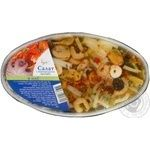 Salad Cousteau seafood in oil 180g
