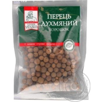 Перець духмяний горошок прозора серiя Lugo Venko 40г