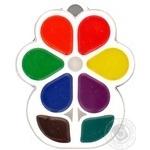 Фарби Промінь акварельні медяні 8кольорів Art.18С х12