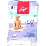 Пелюшки для немовлят Happy Bella Baby 60*60 5шт