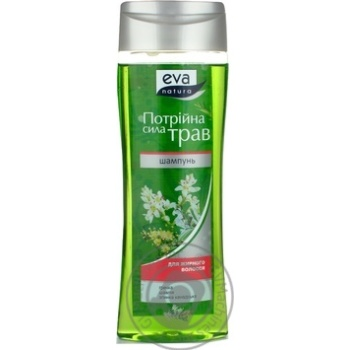 Шампунь Eva Natura потрійна сила очищаючий для жирного волосся 250мл