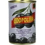 olive Coopoliva with bone 425ml can Spain