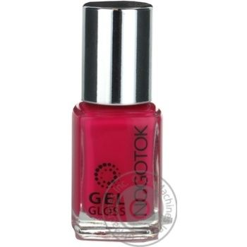 Лак манiкюрний Gel gloss Ноготок 12мл №17 - купить, цены на Novus - фото 1