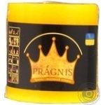 Свічка Рустік Циліндр жовтий 7*7,5,25 год/12 Pragnis C775-325
