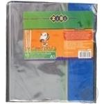 Обкладинка для зошита 17195 А5 PVC 10шт