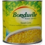 Vegetables corn Bonduelle Tender canned 1870g can France