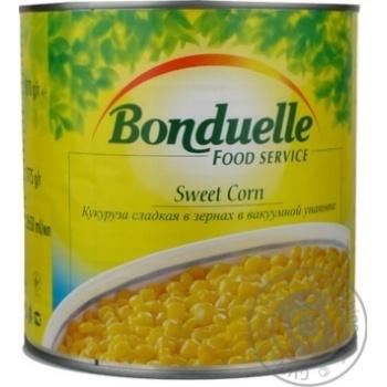 Кукуруза Бондюэль сладкая консервированная 1775г Франция