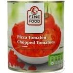 Овочі помідор Файн фуд консервована 850мл залізна банка