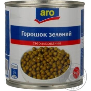 Горошок зелений Aro консервований - купити, ціни на Метро - фото 4