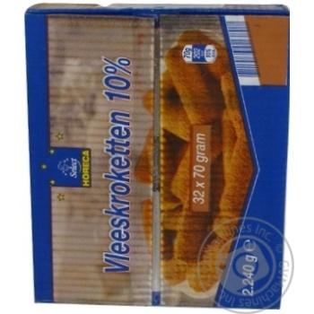 Крокет Хорека селект мясная полуфабрикат 2240г Голландия