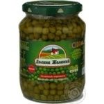 Vegetables pea Dolina jelaniy pea 1000g glass jar
